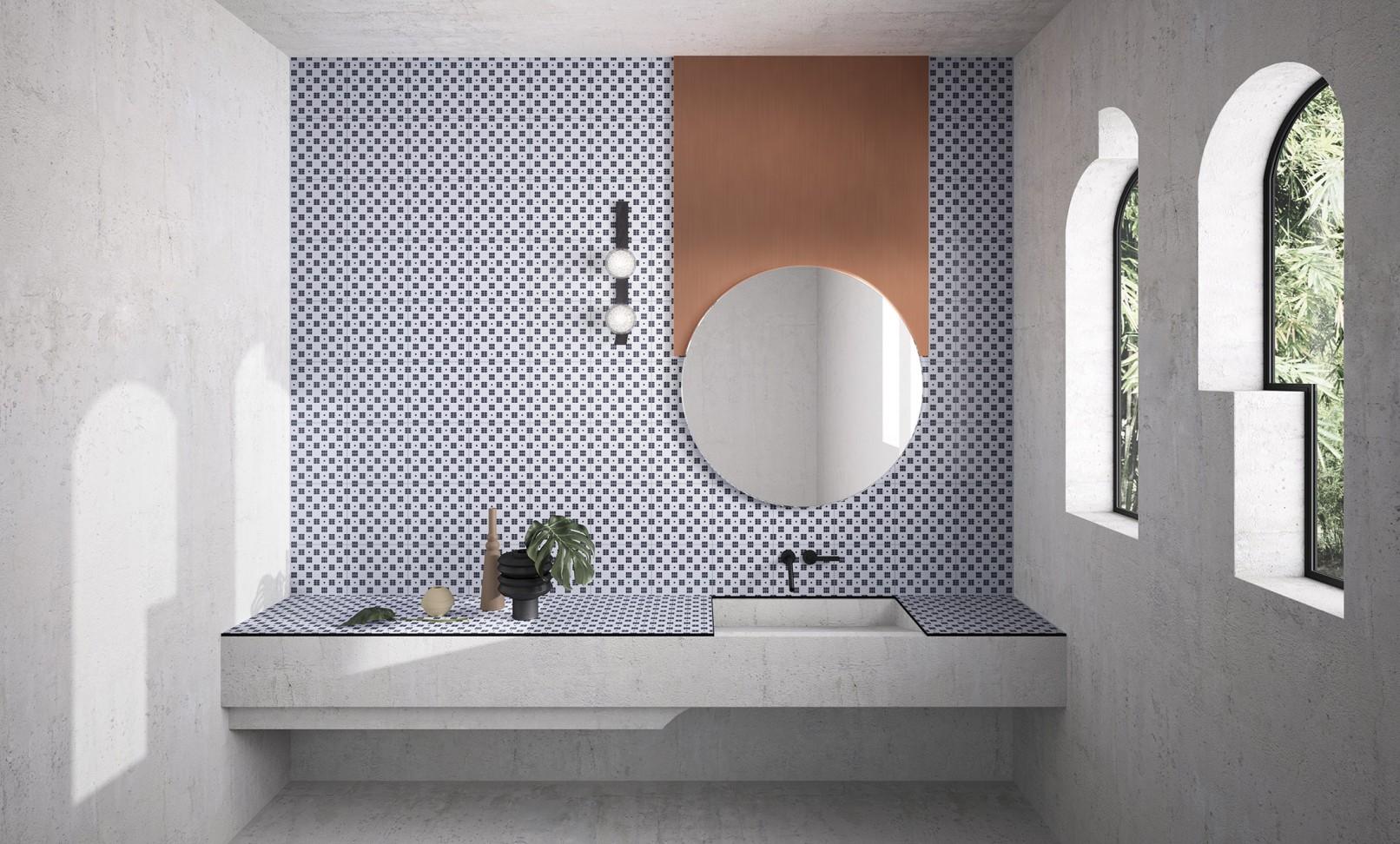 House of tiles marcante testa architetti for Arredo bongiorni
